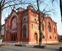 a hajdani ungvári ortodox zsinagóga épülete