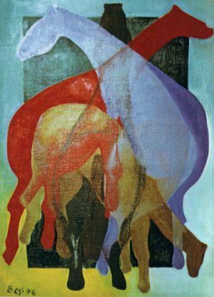 lovak - szemán