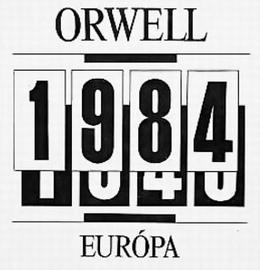 orwell 1984 - európa kiadó 1989
